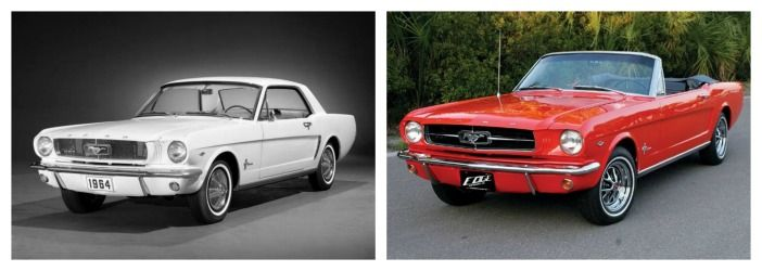 histoire Ford Mustang 64