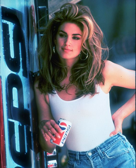 CINDY CRAWFORD, 26: THEN The all-American Crawford appeared on hundreds of magazine covers. She also pitched Pepsi (right), hosted the MTV series House of Style, and married the movie star Richard Gere. (They divorced four years later.)