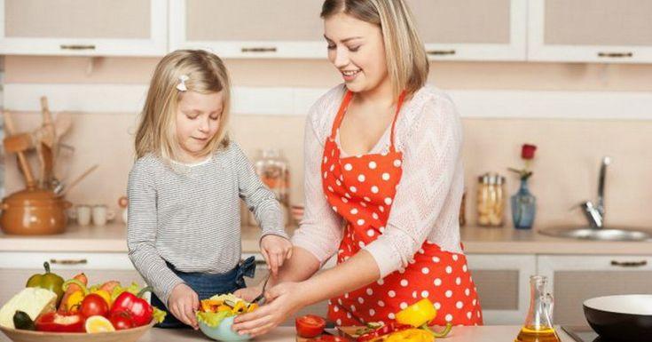 Cara Jitu Ajari Anak Konsumsi Makanan Sehat