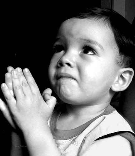 begging or prayer? haha