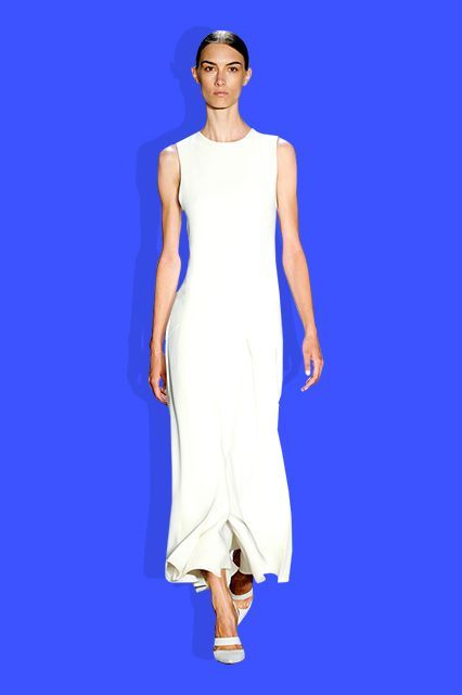 The Fashion Girl's Guide To Spring's Biggest Trends #refinery29  http://www.refinery29.com/how-to-wear-spring-fashion-trends#slide-26  The Nü Woman Designers are redefining minimalism  — highlighting the woman first and the clothes second. Seen here: Wes Gordon