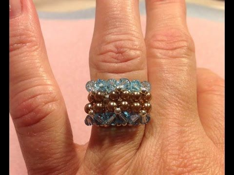 Dazzling Ring ~ Seed Bead Tutorials