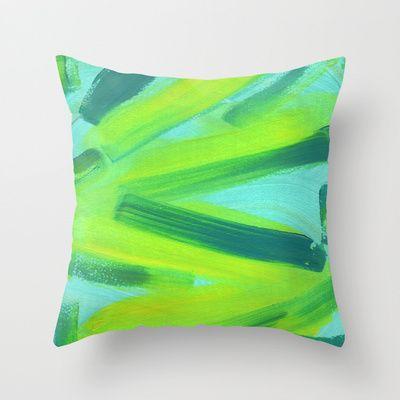 Zig Zag Throw Pillow by Alina Sevchenko - $20.00