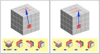 4 x 4 rubik's cube solution的圖片搜尋結果