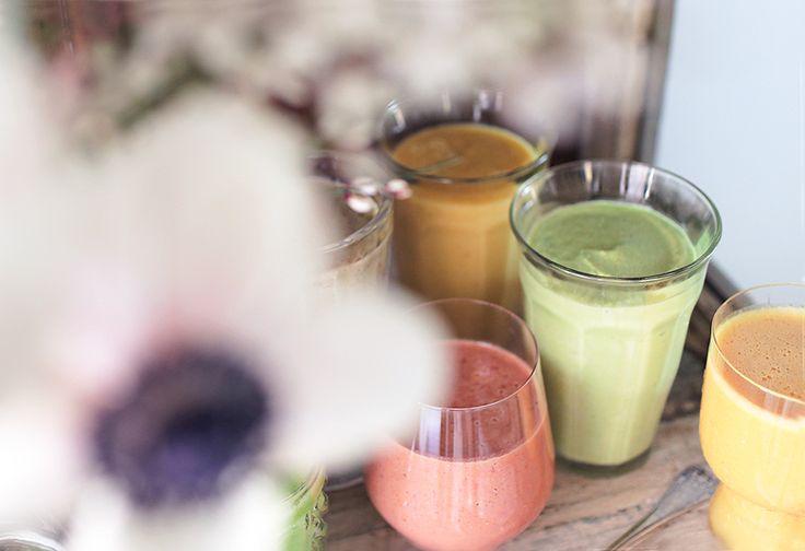 Kevään 5 parasta smoothie-ohjetta