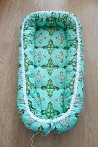 Sew a baby nest - like the one Alex paid $250 for!!!! Pattern and tutorial included