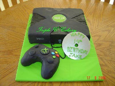 Xbox One Cake Designs : 1000+ images about XBOX Cakes on Pinterest Xbox Cake ...