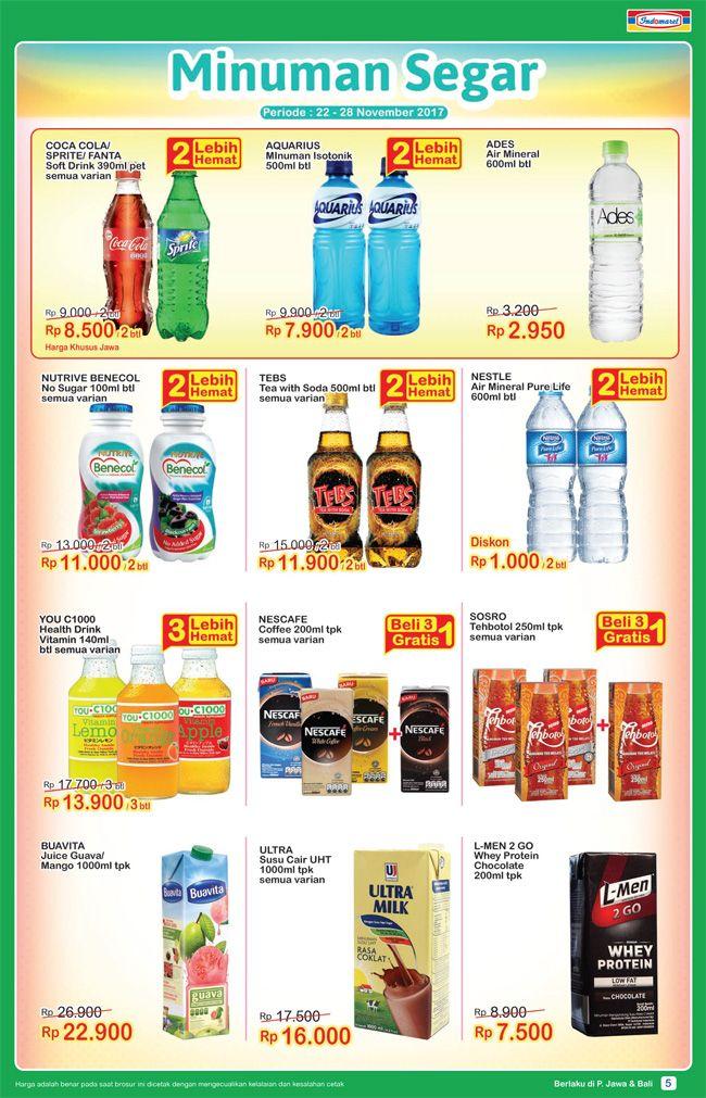 Promo #SuperHemat Minuman Segar Periode : 22 - 28 November 2017