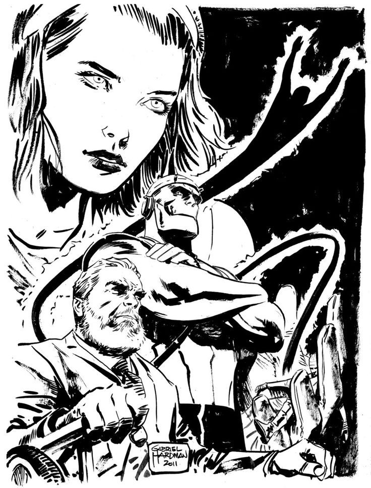 Doom Patrol by Gabriel Hardman