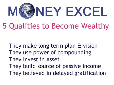 We have carry out research to know how what qualities it takes to become wealthy. We are herewith 5 qualities to become wealthy