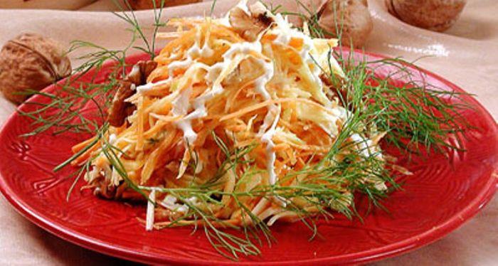 Рецепты салатов из тыквы