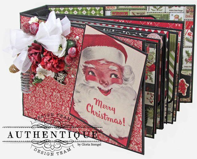 Vintage Christmas - Authentique Paper Guest Designer