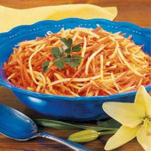 Carrot Parsnip Stir-Fry | Recipe