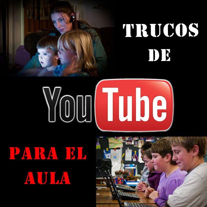 Profesores y alumnos usan con frecuencia videos en YouTube tanto a nivel personal como educativo. Pero una gran mayoría desconocen trucos que ofrece esta red social para el aula.