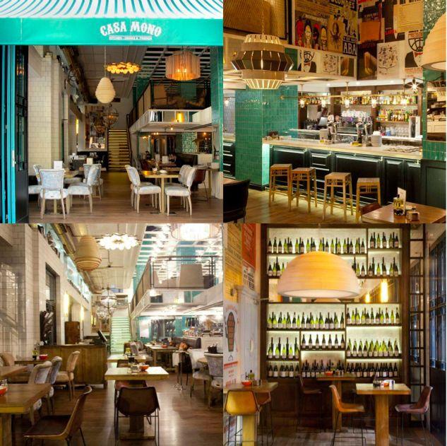 17 best images about restaurante casamonomadrid on - Casa mono restaurante ...