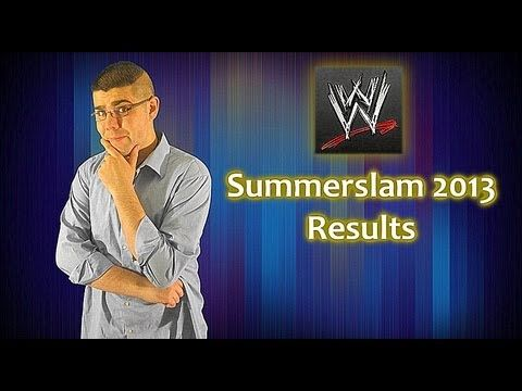 In this video, Juan Palomino discusses about results about WWE's Summerslam 2013.