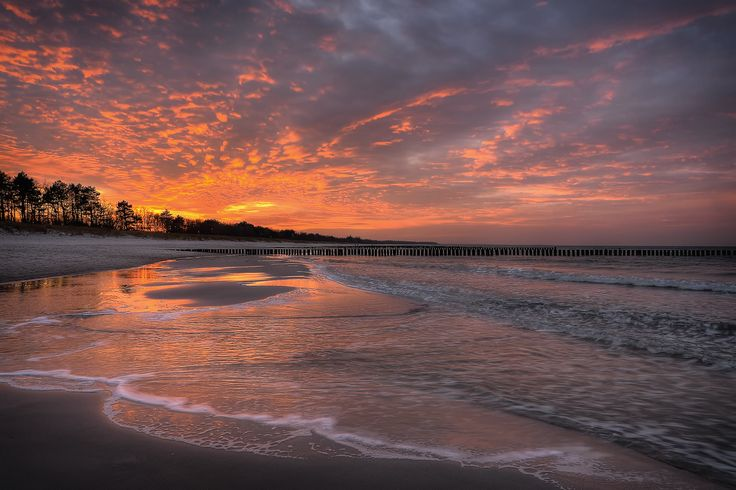 Photograph sunset on the beach by Anke Kneifel on 500px