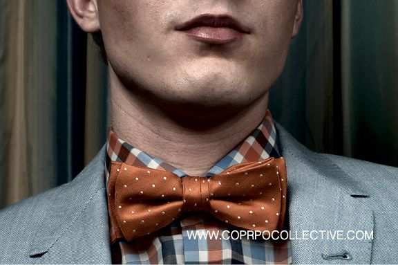 www.corpocollective.com... shirt + tie, HUGO BOSS, blazer, PAUL SMITH. MODEL: Phil Wheeler STYLIST: Asha Binti Kingombe (clothing courtesy Holt Renfrew) PHOTOGRAPHY: Zac Pantalone MAKE-UP: Andreé Beaudoin