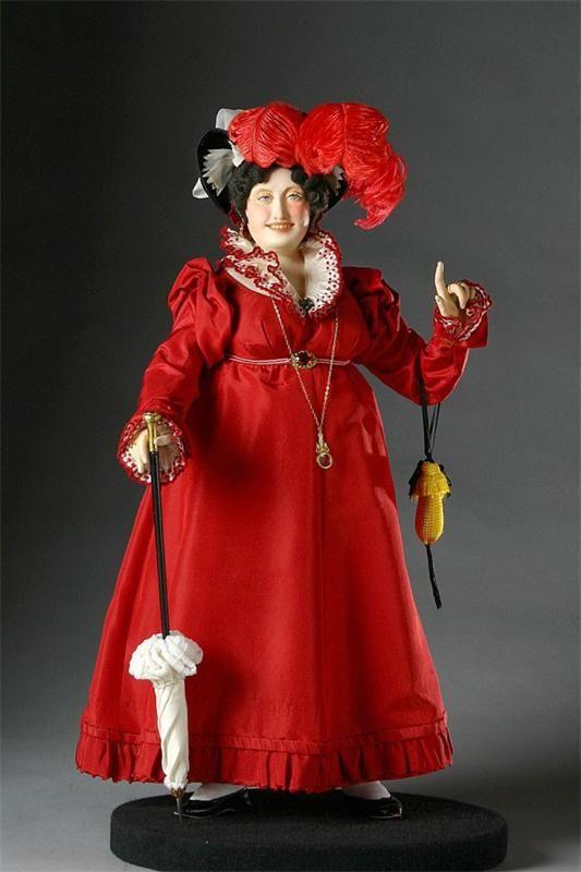 Куклы Джорджа Стюарта: исторические персонажи Англии (женские образы)