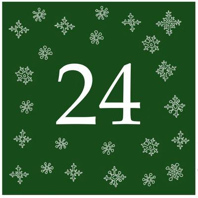Joulukalenteri: 24 tarinaa ja värityskuvaa