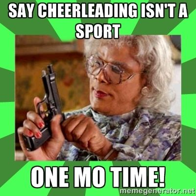 cheerleading memes - Google Search