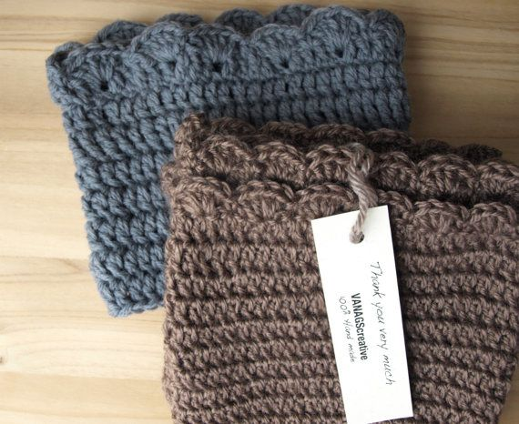 657 Best Knitted Boot Cuffs Images On Pinterest Knitted Boot Cuffs