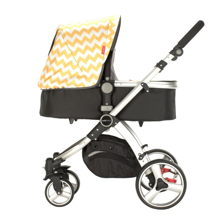 Redsbaby Bounce - The Utlimate All-In-One Stroller - add a little chevron and colour when out and about with your bub on your pram/ stroller! www.redsbaby.com.au