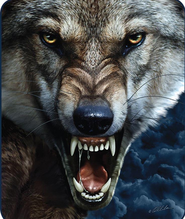 установка злой волк картинки на телефон выполнить