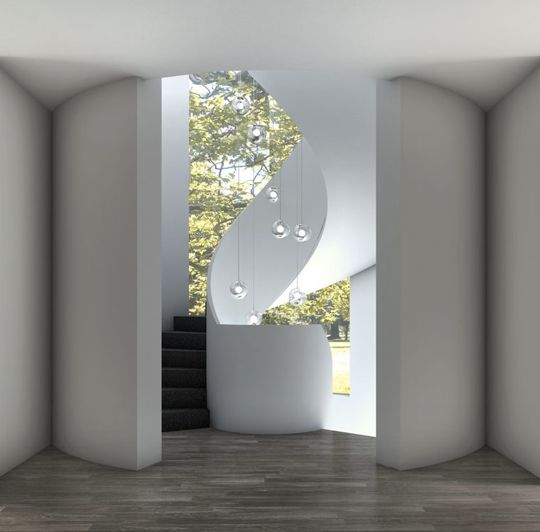 Staircase by Rob Mills Architects