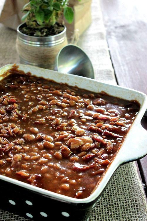 Easy Jack Daniels Baked Beans
