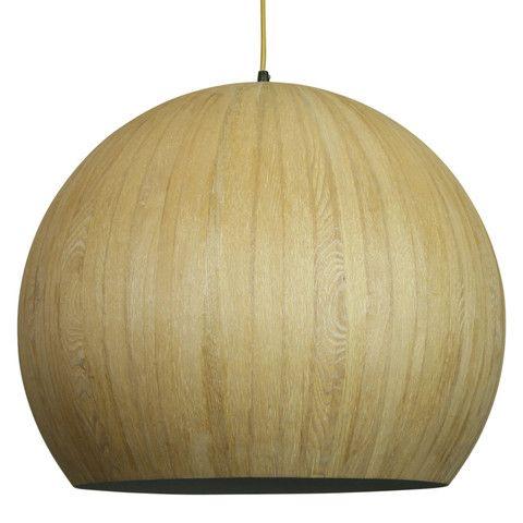 Bed-side, Meals   CACIA Wood Veneer - wooden pendant light   SHE Lights   $199
