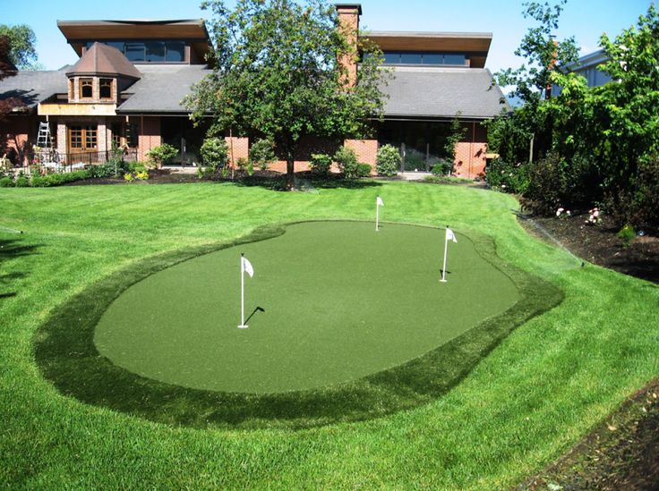 40 best Putting Green Ideas images on Pinterest | Green ... on Putting Green Ideas For Backyard id=57164