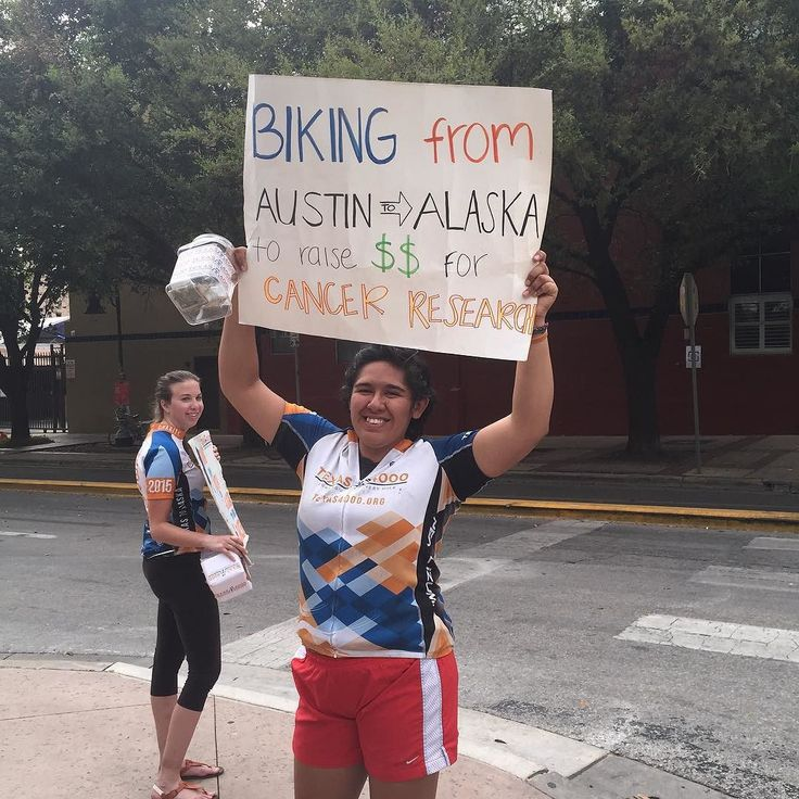 Biking from Austin to Alaska for cancer research #sxsw #geekout
