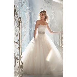 Mori Lee Bridal - 1959 Dress , Mori Lee Bridal strapless ball gown princess vintage wedding gown by Joseph C. Simmons