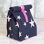 Lunchbag aus Wachstuch und schönem Stoff einfach selber nähen – Anleitung mit …