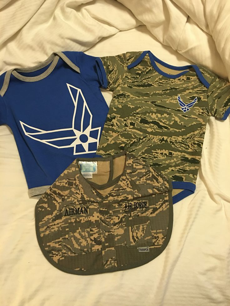 Got these cute baby clothes at NAS Pensacola, Fl