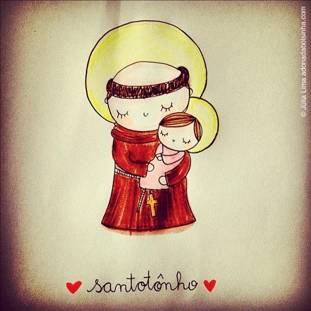 Trabáia Santo Antônio! ;)