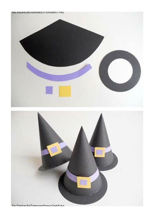 Sombrero bruja #halloween