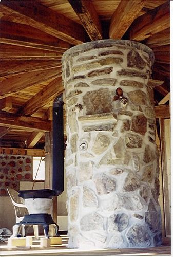 cordwood homes | Cordwood Home Construction | Flickr - Photo Sharing!
