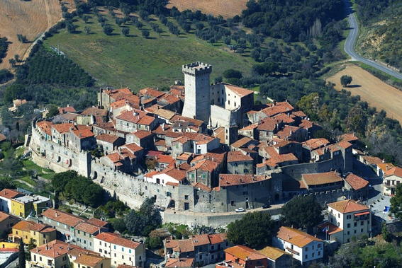A medieval village into modern time, Capalbio deserves a visit to get into the Middle age, in Silver Coast