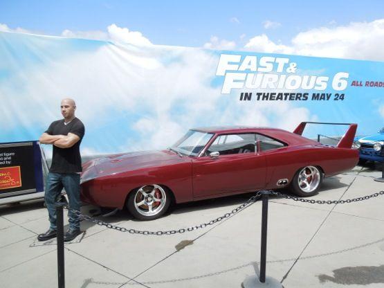 Fast & Furious 6 1969 Dodge Charger Daytona movie car ...