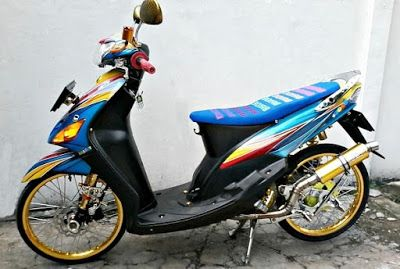 Modifikasi Motor Yamaha Mio Sporty 2009