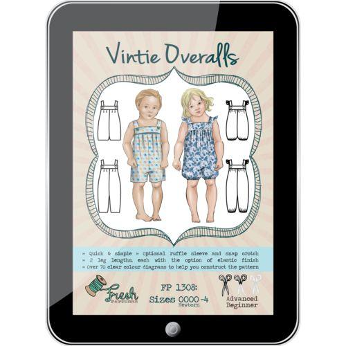 Vintie Overalls PDF Pattern