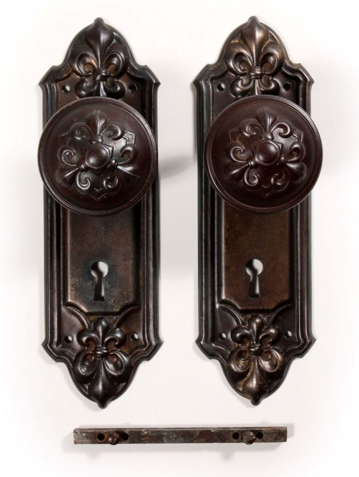 Antique Fleur-de-Lis Door Hardware Sets, ... - Best 25+ Antique Door Hardware Ideas On Pinterest Antique Doors