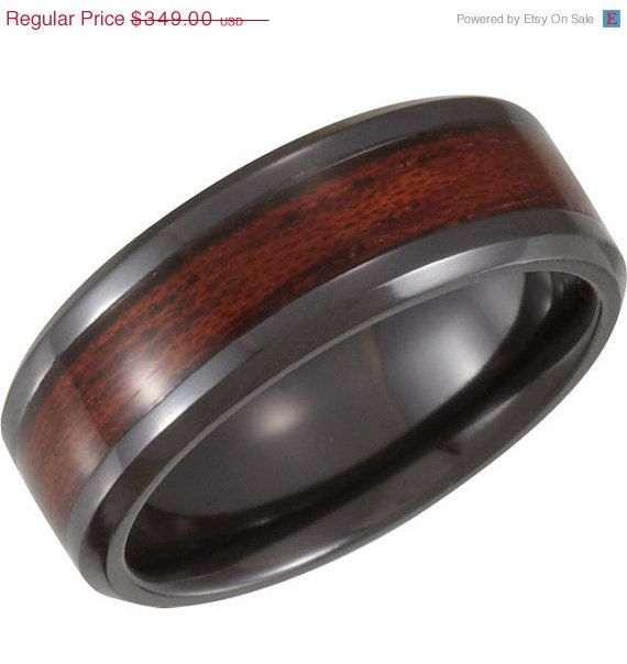 10 best Mens ring wood inlay images on Pinterest Engagement