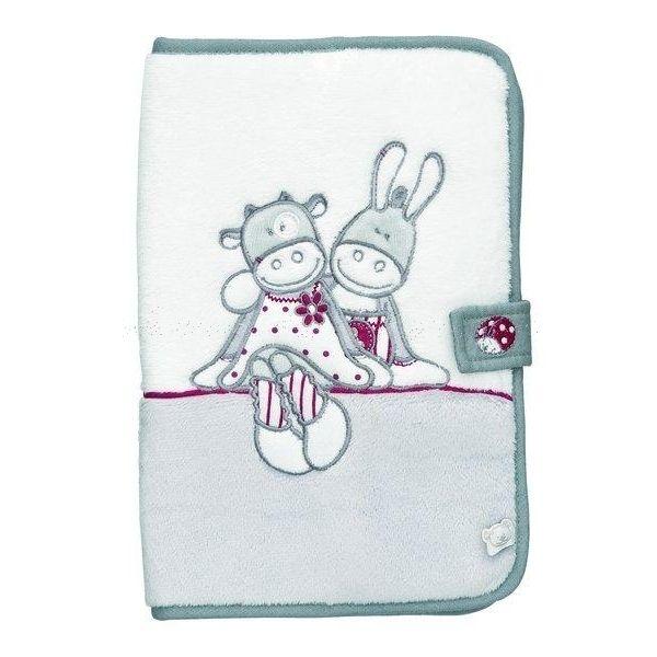 Protège carnet de santé Paquito et Lolita - #Noukies: cadeau tendresse et cadeau utile, le protège carnet de santé Noukies conserve dans un seul et même endroit toutes informations médicales de l'enfant depuis la naissance.