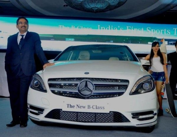 Luxury car manufacturers, Mercedes Benz have introduced their new B-Class Sports Tourer in the Indian auto market. This vehicle is expected to draw the adventure loving and dynamic young Indian buyer to its fold as it combines the versatility of a MUV with the quality of an SUV in essentially the MB entry level acr here.