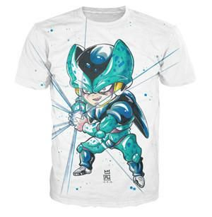 Dragon Ball Z Cell Jr White T-shirt. 100% Cotton and Polyester blend, custom made sublimation printed technique and hand sewn hoodies, t-shirts, and long sleeves clothing.   For our 3D clothing, unless there is a picture on the back for our product images, all of our 3D clothing are printed front and back with the same image.                 FREE Shipping  NOT SOLD IN STORES          Gender: Unisex  Material: Cotton, Polyester Spandex Blend Machine Washable and Dryer Safe     Be...
