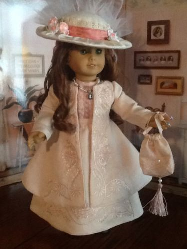 SPRING DERBY custom clothing fits American Girl Doll Felicity/Caroline/Elizabeth