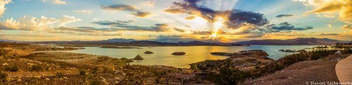 Lake Meade, NV at sunrise